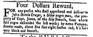 Dec 11 - New-York Gazette and Weekly Mercury Slavery 5