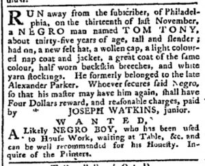 Dec 11 - Pennsylvania Chronicle Slavery 1