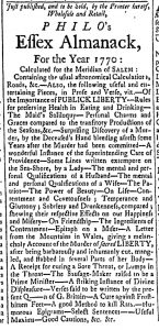 Dec 12 - 12:12:1769 Essex Gazette