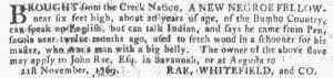 Dec 13 - Georgia Gazette Supplement Slavery 3