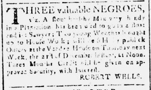 Dec 13 - South-Carolina and American General Gazette Slavery 2