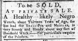 Dec 18 - New-York Chronicle Slavery 1