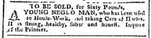 Dec 18 - Pennsylvania Chronicle Slavery 1