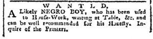 Dec 18 - Pennsylvania Chronicle Slavery 2
