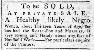 Dec 21 - New-York Chronicle Slavery 1