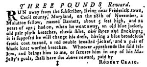 Dec 21 - Pennsylvania Gazette Supplement Slavery 1