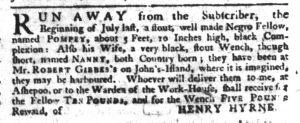 Dec 21 - South-Carolina Gazette Slavery 3