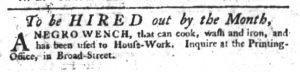 Dec 21 - South-Carolina Gazette Slavery 5