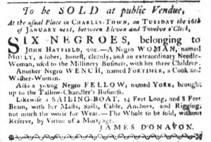 Dec 21 - South-Carolina Gazette Slavery 6