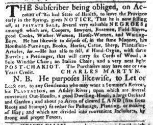 Dec 21 - South-Carolina Gazette Slavery 8