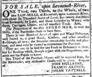 Dec 21 - South-Carolina Gazette Supplement Slavery 4