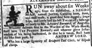 Dec 21 - South-Carolina Gazette Supplement Slavery 5