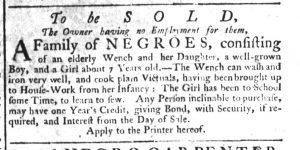 Dec 21 - South-Carolina Gazette Supplement Slavery 6