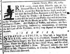 Dec 21 - South-Carolina Gazette Supplement Slavery 9