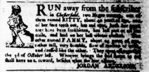 Dec 21 - Virginia Gazette Purdie and Dixon Slavery 2