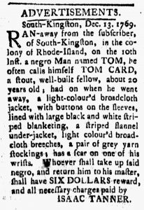Dec 22 - New-London Gazette Slavery 2