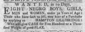 Dec 25 - Newport Mercury Slavery 1