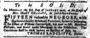 Dec 28 - South-Carolina Gazette Slavery 3