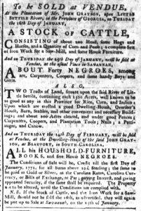 Dec 28 - South-Carolina Gazette Supplement Slavery 5