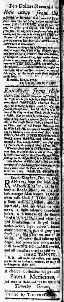 Dec 29 - 12:29:1769 New-London Gazette