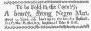 Dec 4 - Boston-Gazette Slavery 1