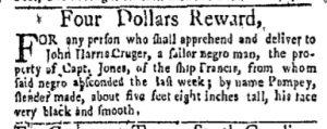 Dec 4 - New-York Gazette and Weekly Mercury Slavery 2