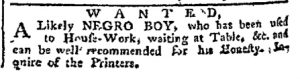 Dec 4 - Pennsylvania Chronicle Slavery 2