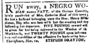 Dec 4 - South-Carolina and American General Gazette Slavery 4