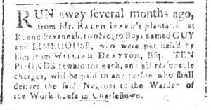 Dec 4 - South-Carolina and American General Gazette Slavery 5