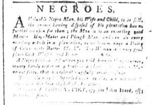 Dec 4 - South-Carolina and American General Gazette Slavery 7