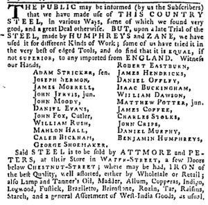 Dec 7 - 12:7:1769 Pennsylvania Gazette