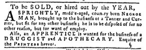 Dec 7 - Pennsylvania Gazette Slavery 2