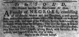 Dec 7 - South-Carolina Gazette Slavery 2