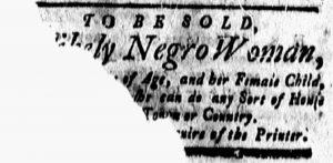 Dec 8 - New-London Gazette Slavery 1