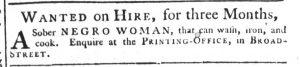 Dec 8 - South-Carolina Gazette Supplement Slavery 6