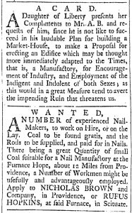 Dec 9 - 11:9:1769 Providence Gazette