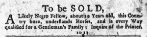 Feb 1 1770 - New-York Journal Slavery 3