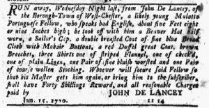 Feb 1 1770 - New-York Journal Slavery 4