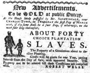 Feb 1 1770 - South-Carolina Gazette Slavery 5