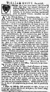 Feb 10 - 2:8:1770 Pennsylvania Gazette
