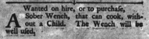 Feb 6 1770 - South-Carolina Gazette and Country Journal Supplement Slavery 4