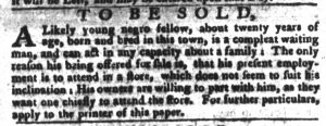Feb 6 1770 - South-Carolina Gazette and Country Journal Supplement Slavery 6