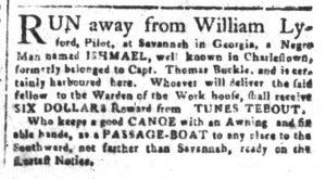 Feb 7 1770 - South-Carolina and American General Gazette Slavery 6