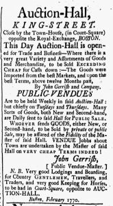 Feb 9 - 2:9:1770 New-Hampshire Gazette