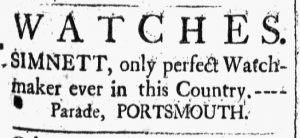Jan 12 1770 - 1:12:1770 New-Hampshire Gazette