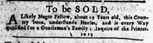 Jan 18 1770 - New-York Journal Slavery 2