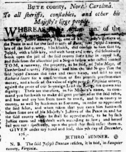 Jan 18 1770 - Virginia Gazette Purdie and Dixon Slavery 1