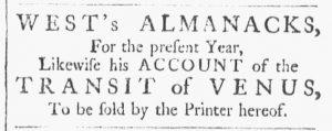 Jan 20 - 1:20:1770 Providence Gazette