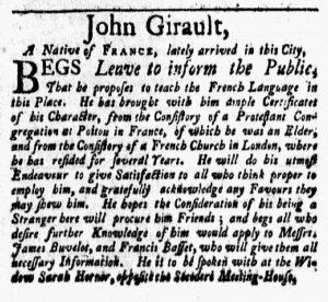 Jan 22 - 1:22:1770 New-York Gazette and Weekly Mercury