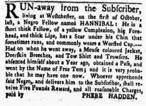 Jan 22 1770 - New-York Gazette and Weekly Mercury Slavery 7